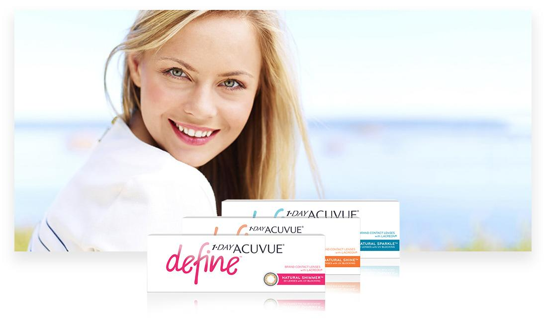 Contact Lenses Acuvue